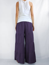 Load image into Gallery viewer, Flares Pants | Wide leg pants & flare trousers - Purple