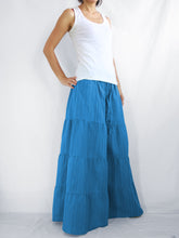 Load image into Gallery viewer, Wide Leg Pants Casual Flare Trousers - Ocean Blue