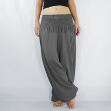 Load image into Gallery viewer, Women Yoga Jumpsuit Harem Pants - Gray
