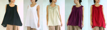 Load image into Gallery viewer, Sleeveless cotton blouse maternity summer tops