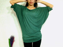 Load image into Gallery viewer, Women Ruched Top in Green