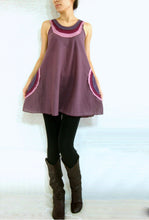 Load image into Gallery viewer, Summer Loose Cotton Sleeveless Tops - Purple Lavender