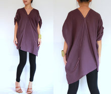 Load image into Gallery viewer, Women Oversized Lavender Summer Boho Tops