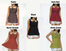 Load image into Gallery viewer, Women Halter Neck & Crochet Lace Tops