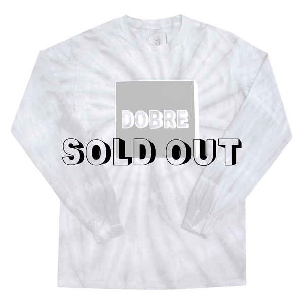 Unisex Box Logo Tie Dye Long Sleeve
