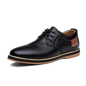 Oxford Genuine Leather Dress Shoes