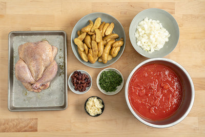 One Pot Provencal Chicken Recipe Step 1