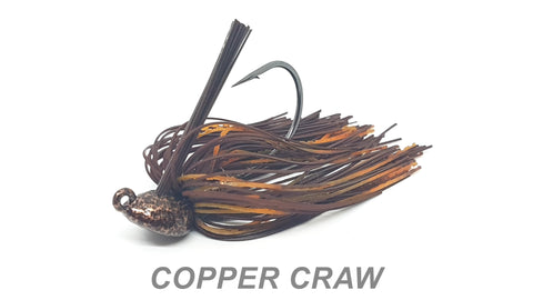 "#1 ""Copper Craw"" Flipping Jig"