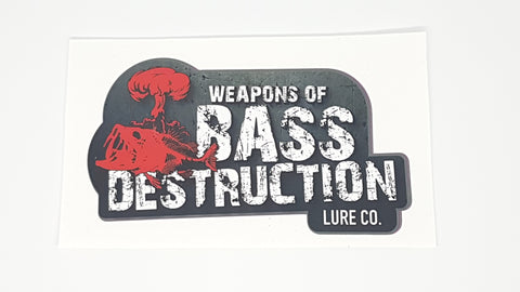 Weapons Of Bass Destruction Decal (Small)