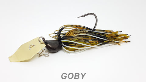 "#38 ""Goby"" Gold Bladed Jig"