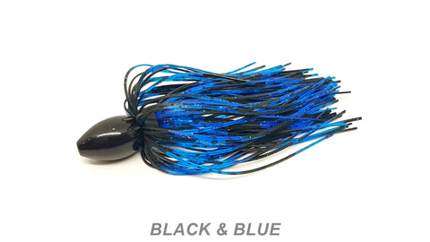 WOBD Tungsten Punch Rig - #40 Black & Blue