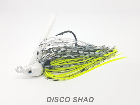 "#52 ""Disco Shad"" Swim Jig"