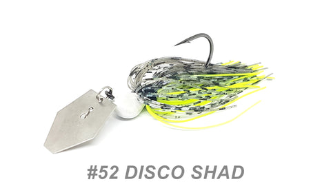 "#52 ""Disco Shad"" Bladed Jig"