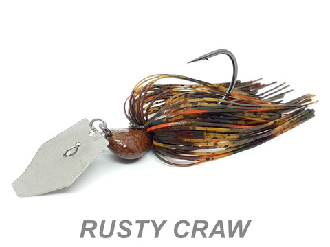 "#59 ""Rusty Craw"" Bladed Jig"