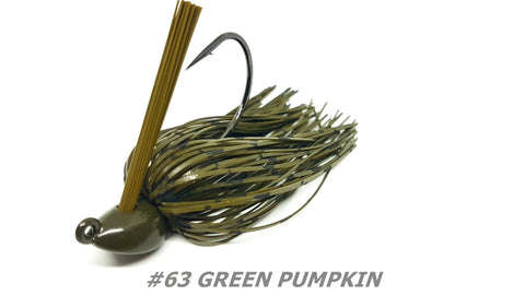 "#63 ""Green Pumpkin"" Flipping Jig"