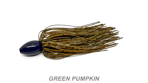 WOBD Tungsten Punch Rig - #63 Green Pumpkin