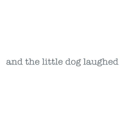 and the little dog laughed logo