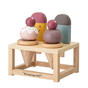 BLOOMINGVILLE MINI - Ice Cream Set With Stand