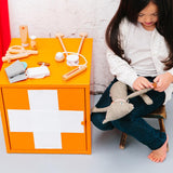 make me iconic wooden doctor kit play set