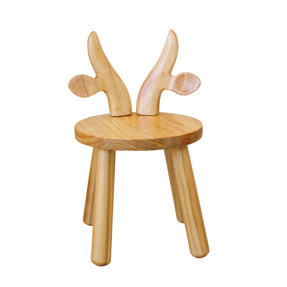 MY HAPPY HELPERS - Wooden Chair for Toddlers - Cow