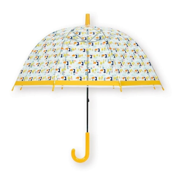 bandjo umbrella kid toucan yellow