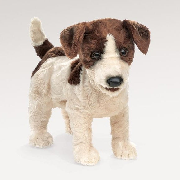 folkmanis puppets small jack russell smooth coat