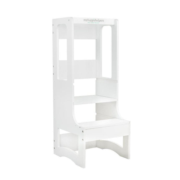 my happy helpers evo slimline adjustable learning tower white