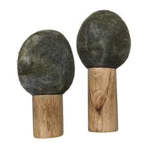 papoose toys winter rock trees