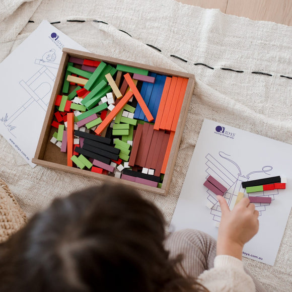 qtoys cuisenaire learning rods