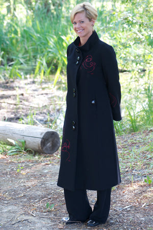 Long Coat - Black