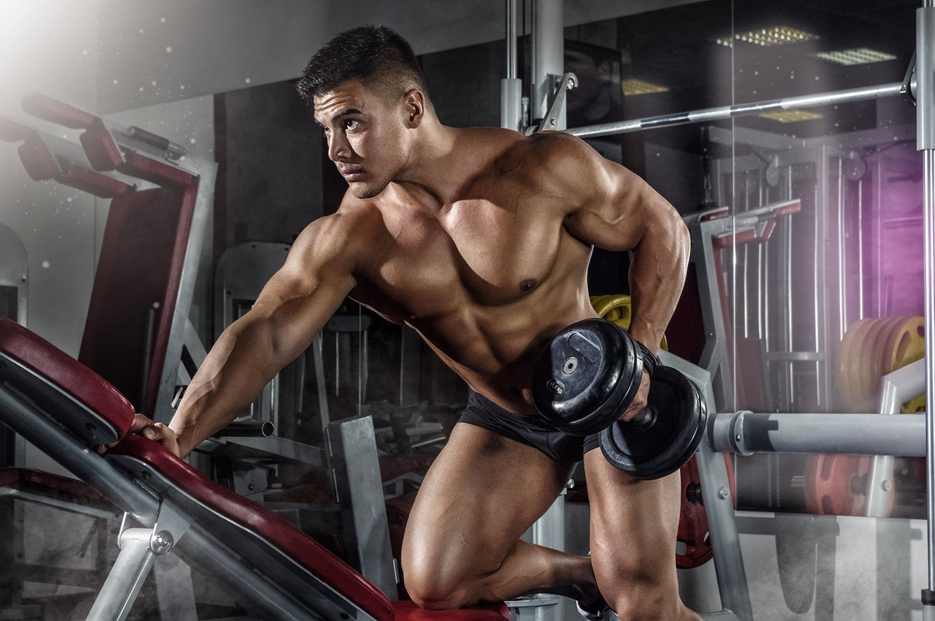 HGH for bodybuilding muscles gain