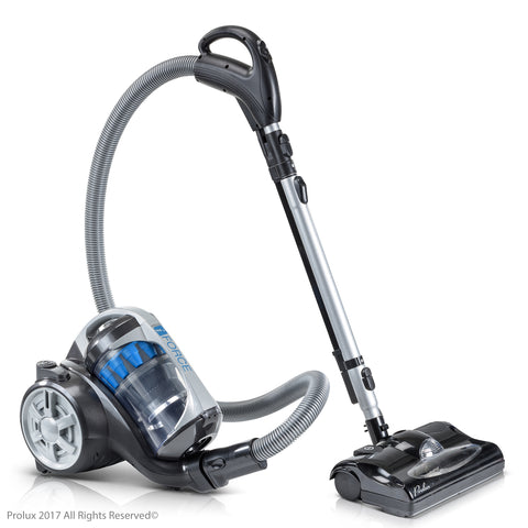 Scratch and Dent SAVE 40% Prolux iFORCE canister vacuum with HEPA filter and Power NOzzle.
