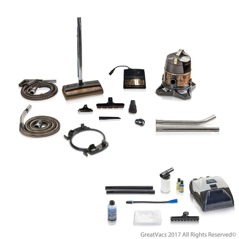 Reconditioned Genuine Rainbow SE Vacuum Cleaner with 10pc Prolux Storm Shampooer Bundle 5YR Warranty