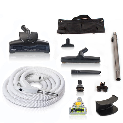 Universal Fit GV Central Vacuum Kit with Turbo Nozzles