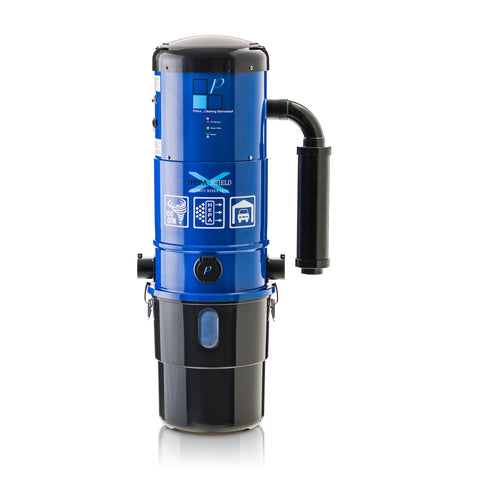 Central Vacuum Unit w/ Powerful 2 Speed Motor and 25 Year Warranty by Prolux. Red, White or Blue it's up to you!