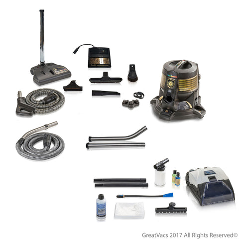 Reconditioned Genuine Rainbow E series 1 speed Vacuum Cleaner with 10pc Prolux Storm Shampooer Bundle 5YR Warranty