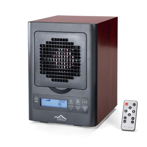 USED New Comfort 6 Stage UV HEPA Ozone Generator Air Purifier with Remote