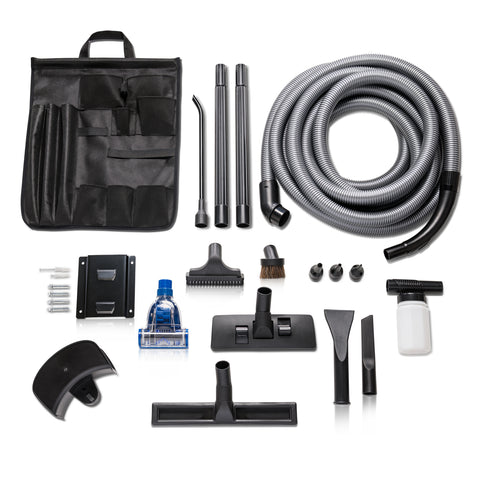 Professional Grade Wall Mountable Wet / Dry Garage and Shop Vacuum by Prolux