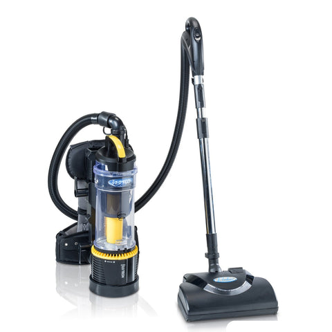 Commercial Lightweight Bagless Backpack Vacuum w/ Power Nozzle and Warranty 5 YR Warranty by Prolux 2.0