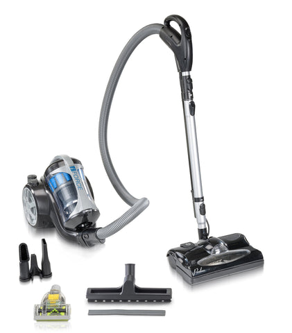 Lightweight Bagless Prolux IForce Canister Vacuum Cleaner w/ Power Nozzle