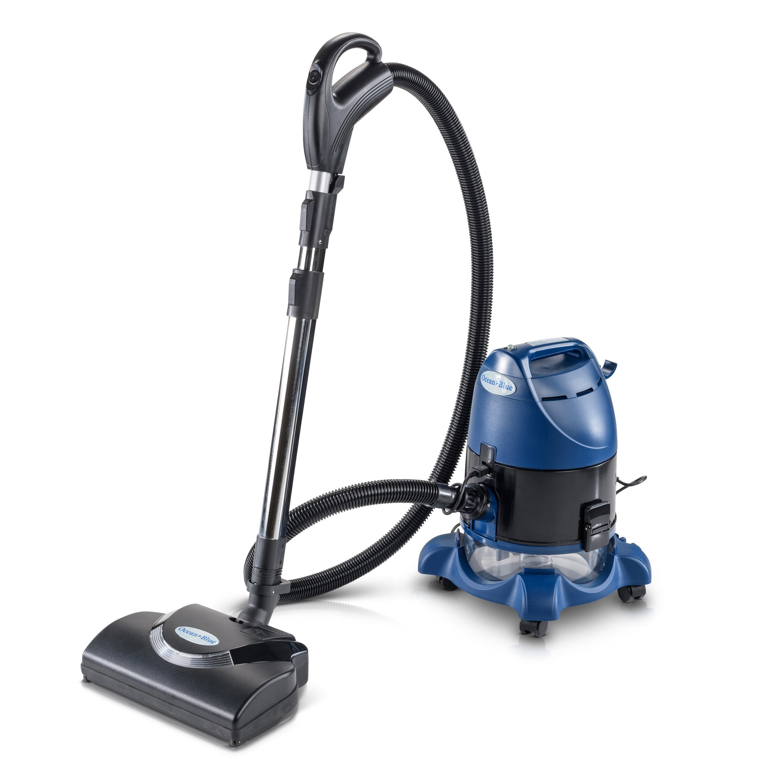 2019 Ocean Blue Water Filtration Bagless Canister Vacuum