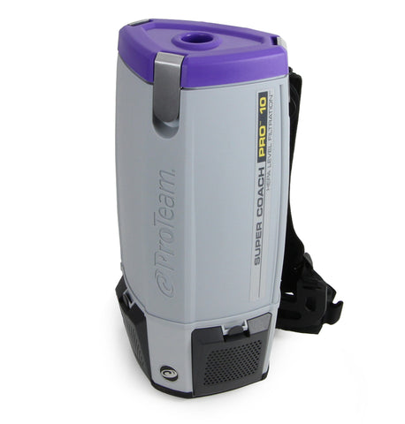 Used Save 40% Commercial SuperCoach Pro 10 Backpack Vacuum Cleaner w/ Lifetime Warranty by ProTeam