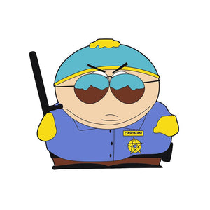 Cartman Police Respect My Authoritah