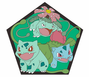 Bulbasaur Grass Evolution Chart