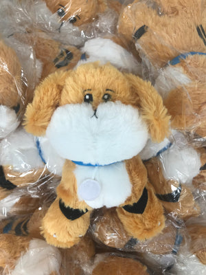 Growlithe x Snuffles Plush Doll