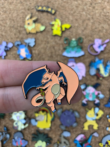 Charizard SmokeMon - PinPatchInc