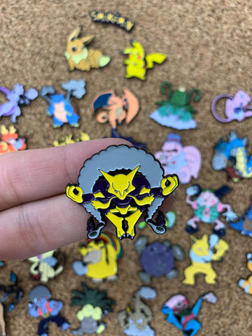 Alakazam SmokeMon - PinPatchInc
