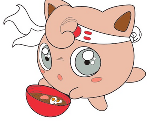 Jigglypuff Eating Ramen