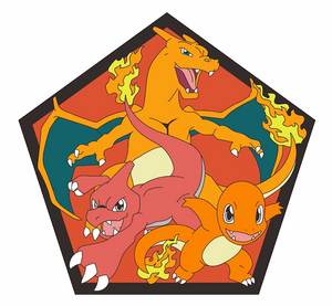 Charmander Fire Evolution Chart