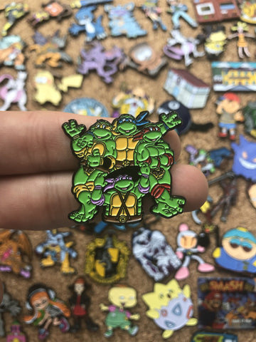 Teenage Mutant Ninja Turtles - PinPatchInc